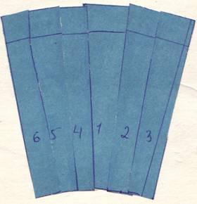 нижняя часть комбинированного рукава