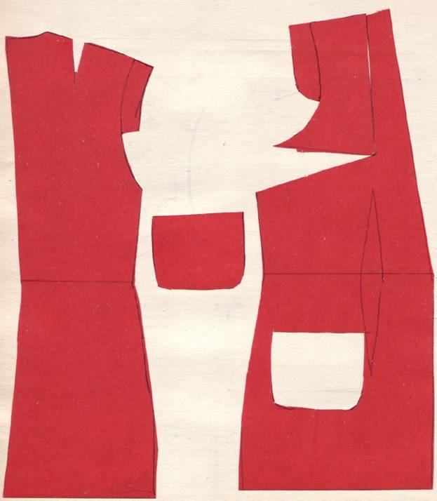 Комментарий: Фасоны сарафанов, крой, чертеж.