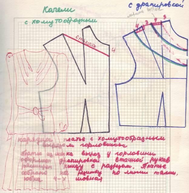 Вязаное пальто на спицах » Схемы и описание