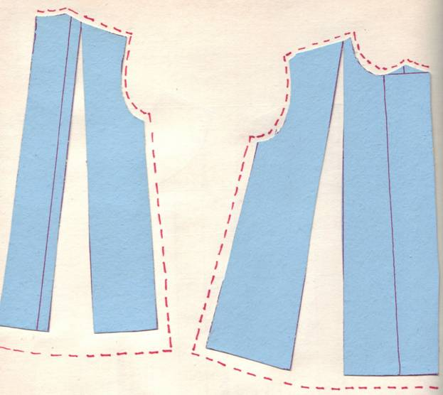 Пошив простого платья Кройка и шитьё