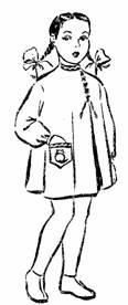фасон основы детского дошкольного платья
