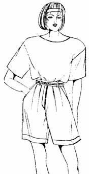 """брюки типа """"бермуды"""""""