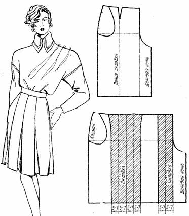 2 модель юбки- брюк