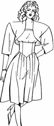 3 модель юбки-брюк
