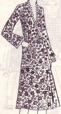 Халат из х/б ткани
