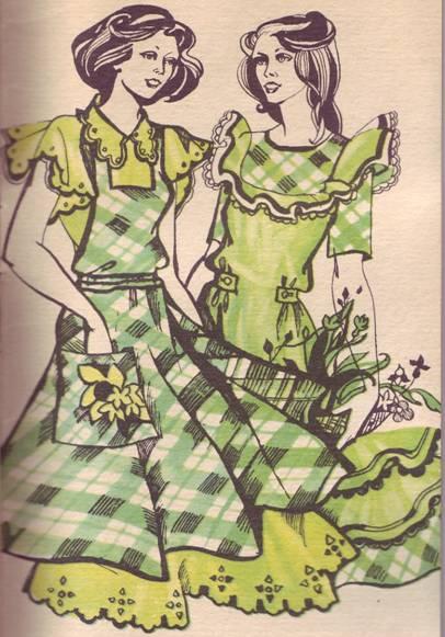 Фасон домашнего платья