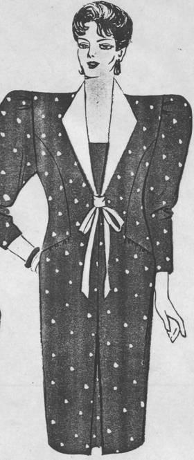 Описание: платьев и костюма для полных женщин.