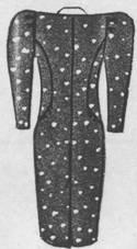 спинка фасона платья для полной женщины