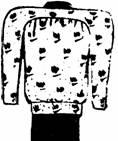 спинка костюма для полной женщины
