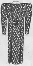 спинка платья для полной женщины