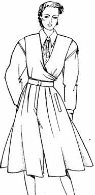 фасон юбки-брюк