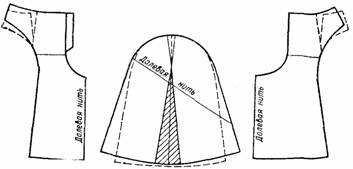 чертеж юбки-брюк