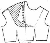 Выкройка лифа драпировкой