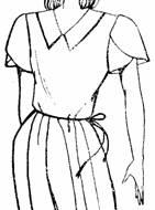 короткий рукав, состоящий из 2-х половинок, находящихся друг на друга
