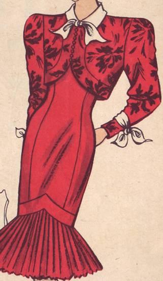 комплект платье и жакет