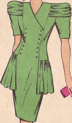 молодежное платье полуприлегающего силуэта
