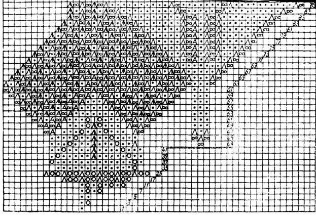 Бесплатные схемы для вязания вилкой