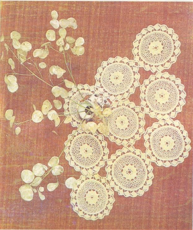 Вязание салфеток крючком.  Образцы и схемы вязания.