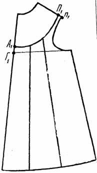 детское платье на круглой кокетке