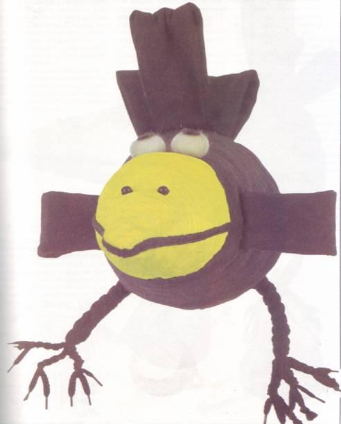 игрушка-подушка ворона