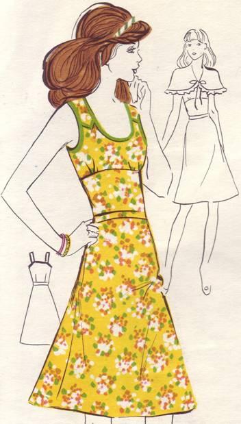летний платье-сарафан выкройка
