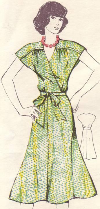 фасон и выкройка шелкового летнего платья для молодой стройной женщины