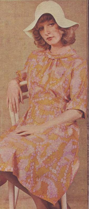 фасон и выкройка шелкового платья