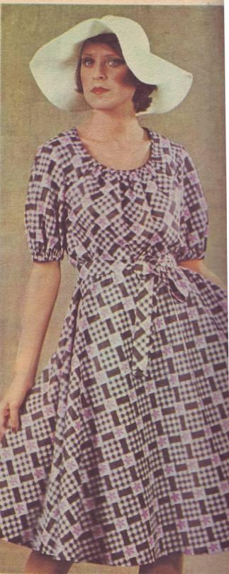 Фасоны и выкройки летних платьев