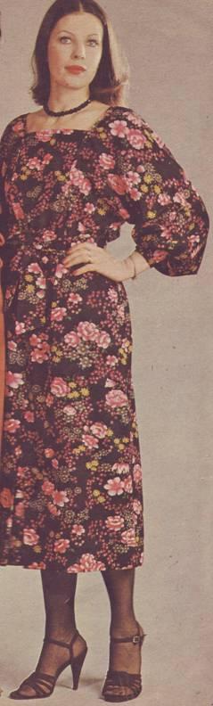 фасон и выкройки платьев мягкой формы