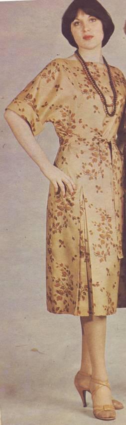 выкройка платья фасона кимоно