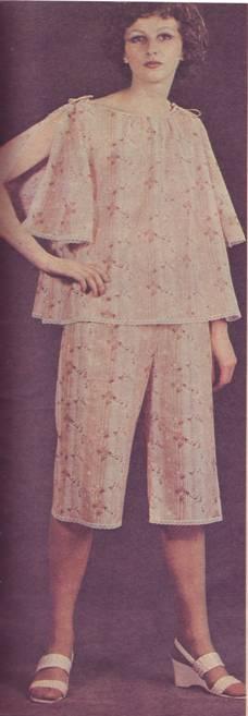 пижама и пеньюар выкройка
