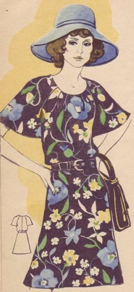 летнее шелковое платье с короткими рукавами реглан