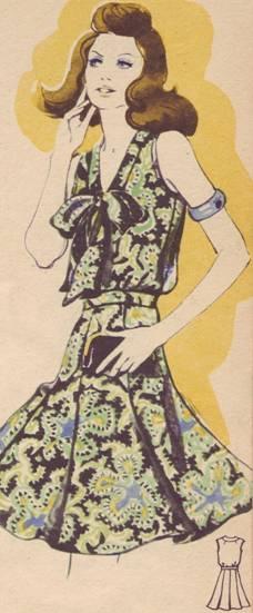 летнее платье из легкой шелковой ткани для молодых женщин