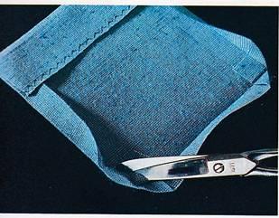 пошив накладных карманов